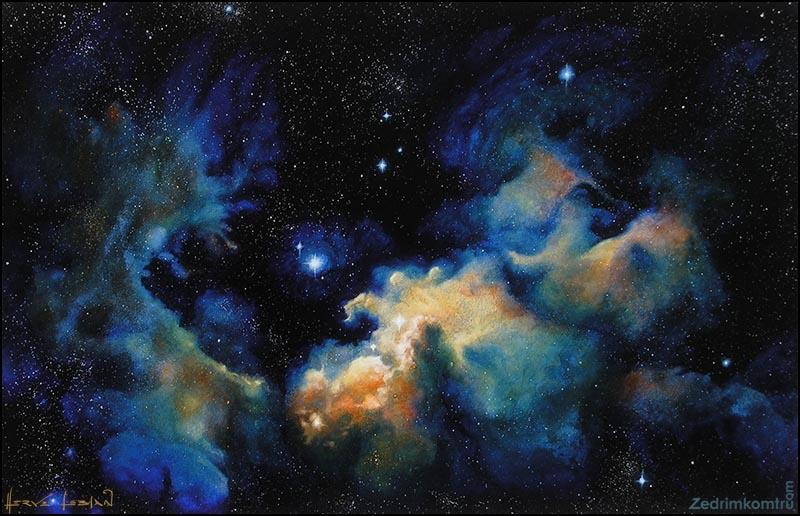 Oil Painting Nebula